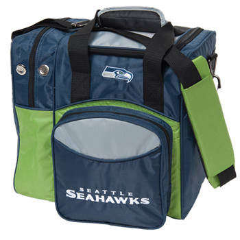 KR Strikeforce NFL Seattle Seahawks 1-Ball Bowling Bag