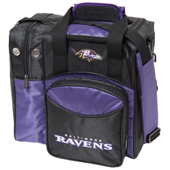 KR Strikeforce NFL Baltimore Ravens 1-Ball Bowling Bag