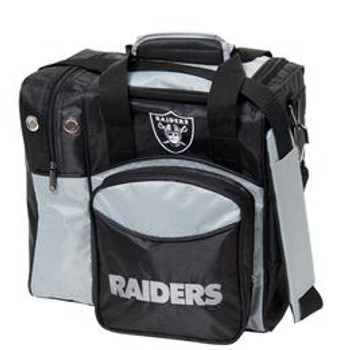KR Strikeforce NFL Oakland Raiders 1-Ball Bowling Bag