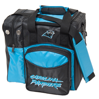 KR Strikeforce NFL Carolina Panthers 1-Ball Bowling Bag