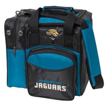 KR Strikeforce NFL Jacksonville Jaguars 1-Ball Bowling Bag