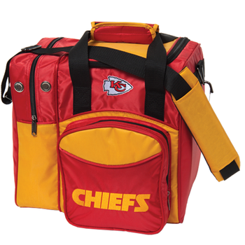 KR Strikeforce NFL Kansas City Chiefs 1-Ball Bowling Bag