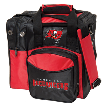 KR Strikeforce NFL Tampa Bay Buccaneers 1-Ball Bowling Bag