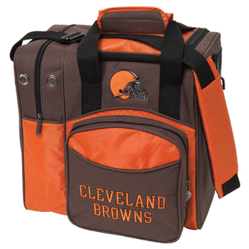 KR Strikeforce NFL Cleveland Browns 1-Ball Bowling Bag