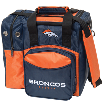 KR Strikeforce NFL Denver Broncos 1-Ball Bowling Bag