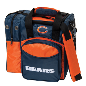 KR Strikeforce NFL Chicago Bears 1-Ball Bowling Bag
