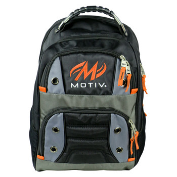 Motiv Intrepid Backpack Black/Orange