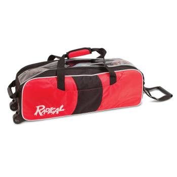 Radical 3 Ball Bowling Tote - Red/Black