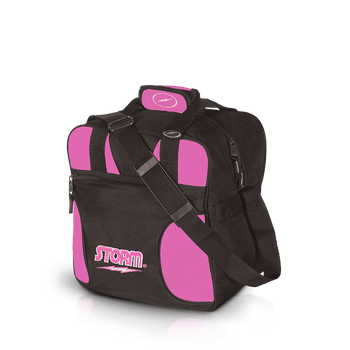 Storm 1 Ball Solo Bowling Bag - Black/Pink