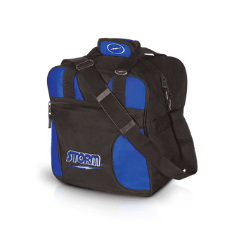 Storm 1 Ball Solo Bowling Bag - Black/Royal