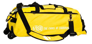 Vise 3 Ball Tote Roller Yellow
