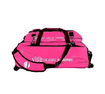 Vise 3 Ball Tote Roller with Shoe Pouch Pink