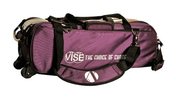 Vise 3 Ball Tote Roller Purple