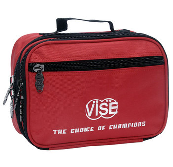 Vise Bowling Accessory Bag Red