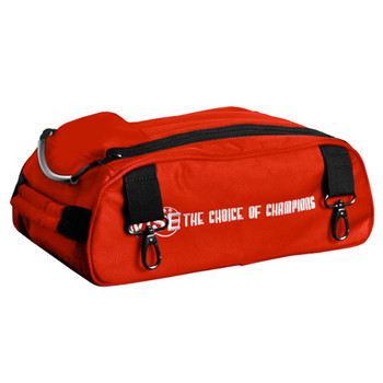 Vise 2 Ball Attachable Shoe Pouch Red