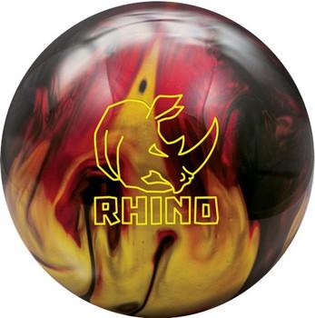 Brunswick Rhino Bowling Ball - Red/Black/Gold Pearl