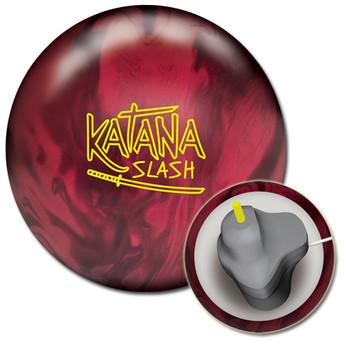 Radical Katana Slash Bowling Ball with core design