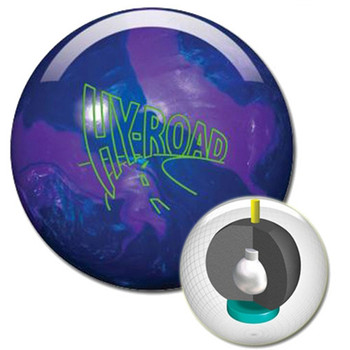 Storm Hy-Road Pearl Bowling Ball and core