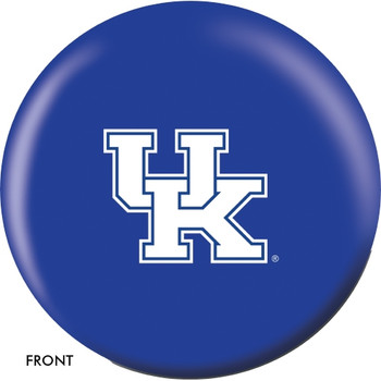 OTBB Kentucky Wildcats Bowling Ball front