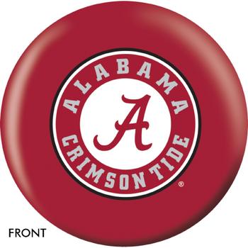 OTBB Alabama Crimson Tide Bowling Ball front