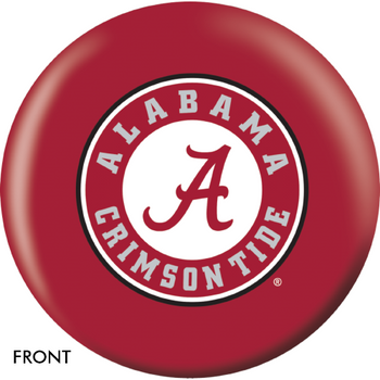 OTBB Alabama Crimson Tide Bowling Ball front