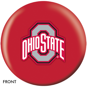 OTBB Ohio State University Bowling Ball front