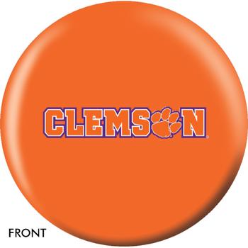 OTBB Clemson University Bowling Ball front