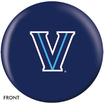 OTBB Villanova Wildcats Bowling Ball front