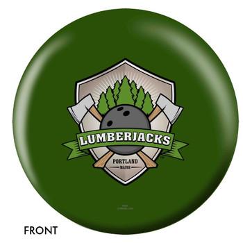 OTBB Portland Lumberjacks Bowling Ball front