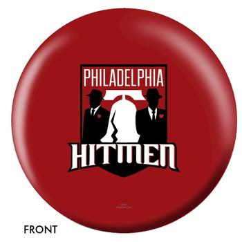 OTBB Philadelphia Hitmen Bowling Ball front