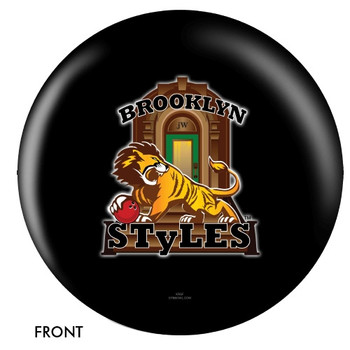 OTBB Brooklyn Styles Bowling Ball front