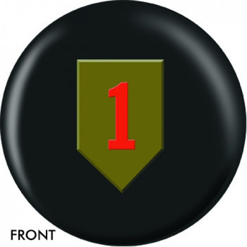 OTBB U.S. 1st Infantry Bowling Ball front