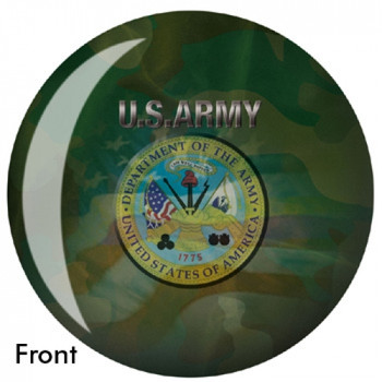 OTBB U.S. Army Bowling Ball front
