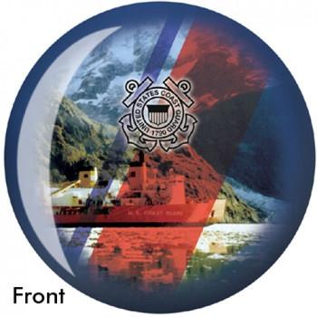 OTBB U.S. Coast Guard Bowling Ball front