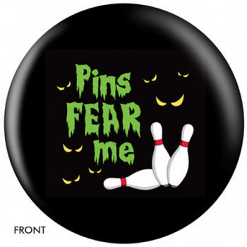 OTBB Pins Fear Me Bowling Ball front