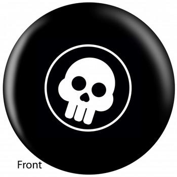 OTBB Comic Skull Bowling Ball front