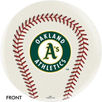 OTBB Oakland Athletics Bowling Ball