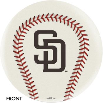 OTBB San Diego Padres Bowling Ball