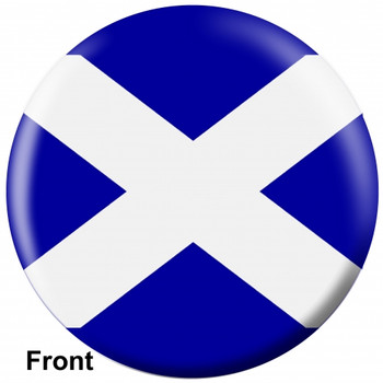 OTBB Scottish Flag Bowling Ball front