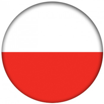 OTBB Polish Flag Bowling Ball front