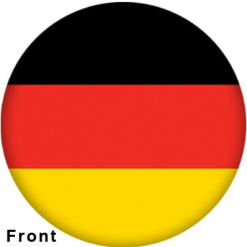 OTBB German Flag Bowling Ball front