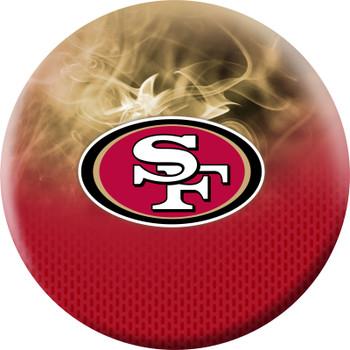 OTBB San Francisco 49ers Bowling Ball