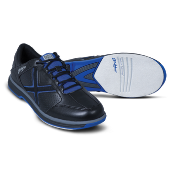 KR Strikeforce Men's Ranger Bowling Shoes Black/Blue setup