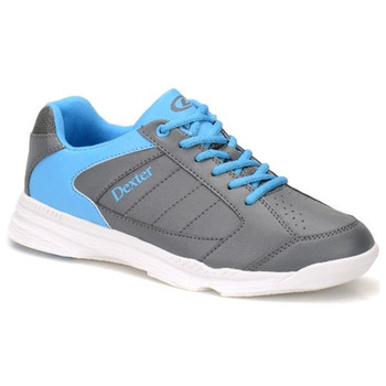 Dexter Ricky IV Mens Bowling Shoes - Grey/Blue Trim
