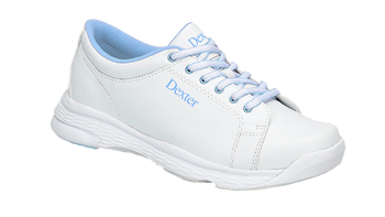 Dexter Raquel V Youth Bowling Shoes White/Light Blue