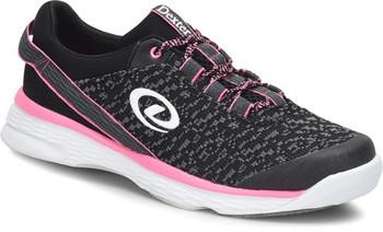 Dexter Jenna II Womens Bowling Shoes Black/Grey/Pink