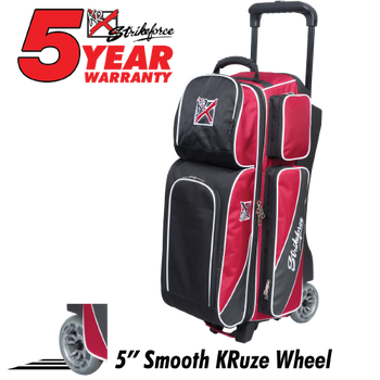 Strikeforce Fast Triple Roller Brick Red/Black