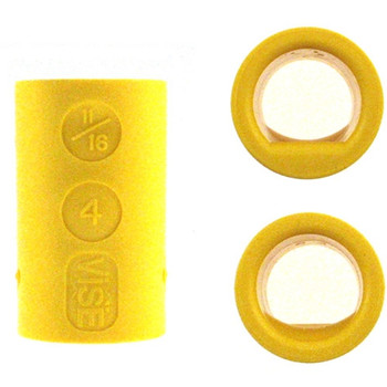 Vise Lady Power Lift & Semi Inserts - Yellow