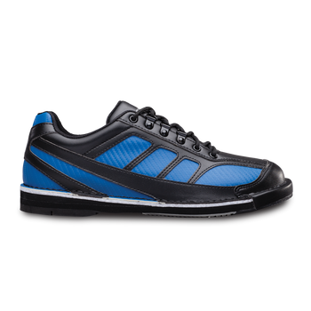 Brunswick Phantom Mens Bowling Shoes Black/Royal Carbon Fiber Right Handed Wide