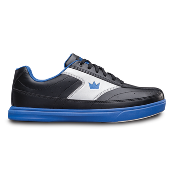 Brunswick Renegade Mens Bowling Shoes Black/Royal